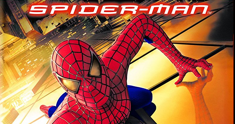 Spiderman movie poster from 2002